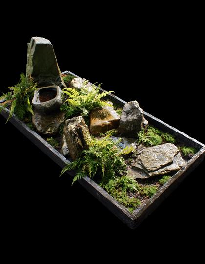 Differend, afscheid, uitvaart, Seigan, Peter van Lune, Japanse tuin, grafontwerp