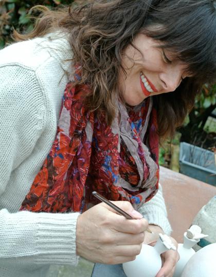 Differend, afscheid, uitvaart, urn, gedenkkunst, keramiek, Urn to Be, Danielle van Assema
