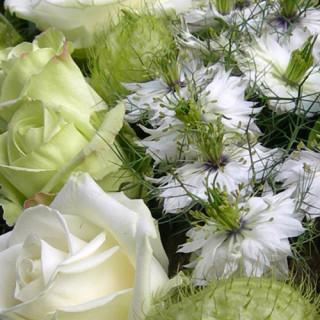 Differend, afscheid, uitvaart, bloemwerk, rouwboeket, bloemstyling, grafstyling, Wolter Strijker